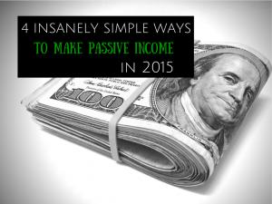 ideas for passive income