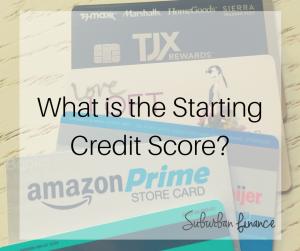 starting credit score