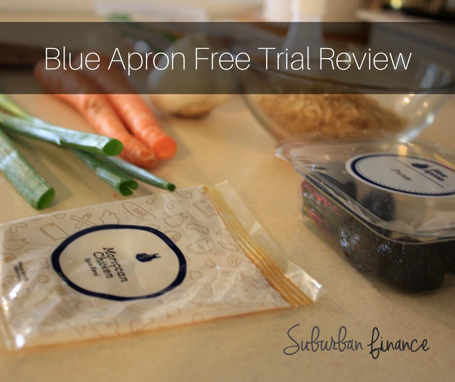 blue apron free trial