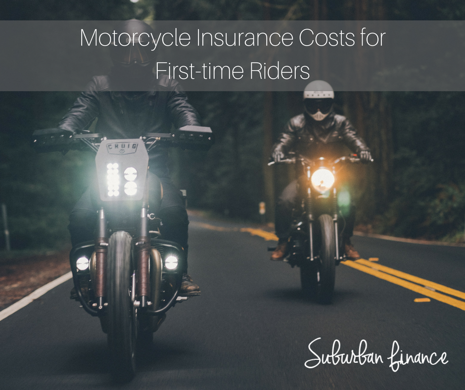 insurance costs for first-time riders