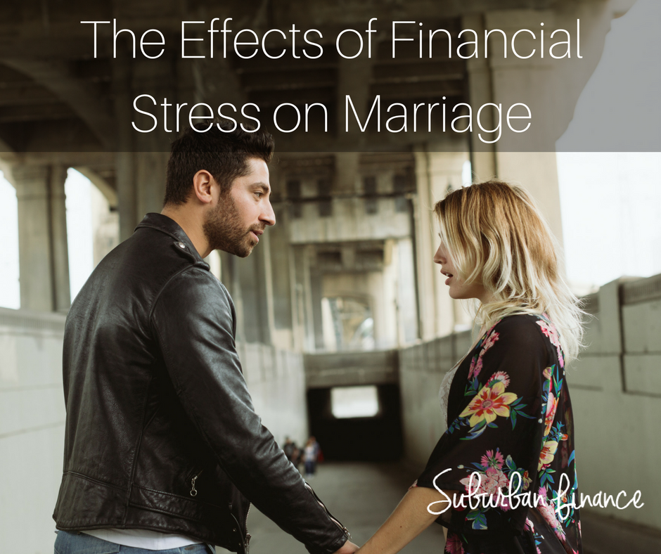 effects of financial stress on marriage