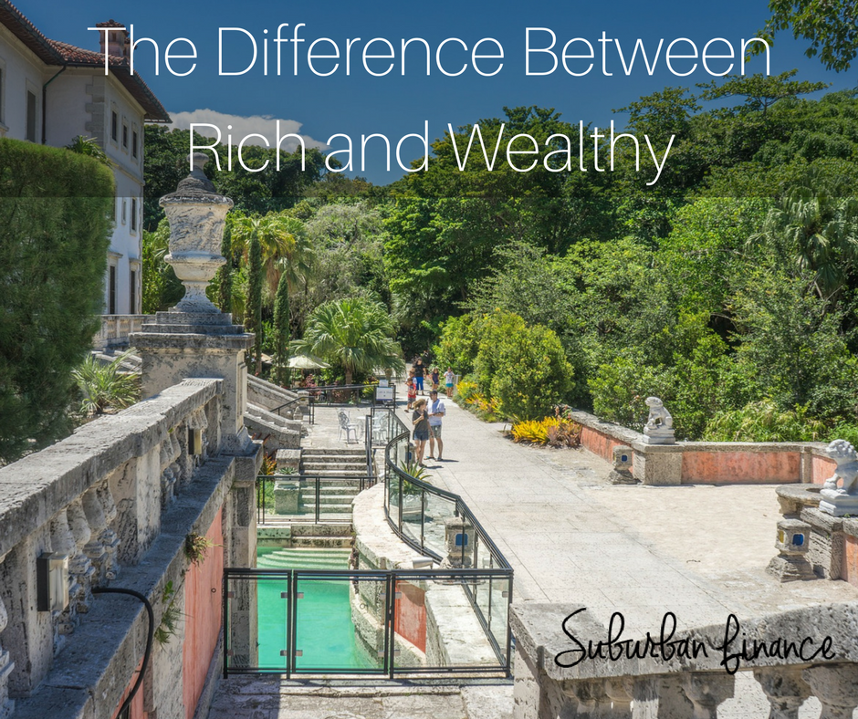 the difference between rich and wealthy