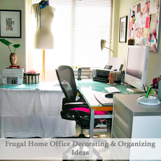 Frugal Home Decorating Ideas Part - 24: Home Office Decorating Ideas