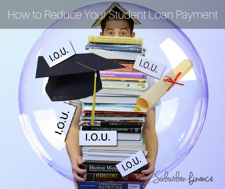 how to reduce your student loan payments