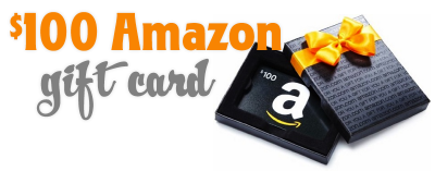 We hope you win the $100 Amazon gift card!